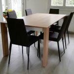 Table Brume chez un client
