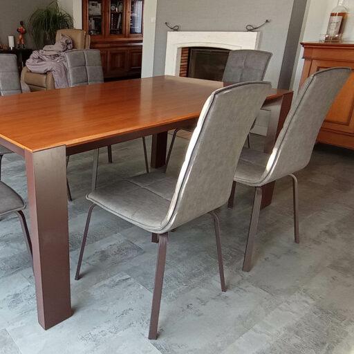 table merisier extensible BRUME