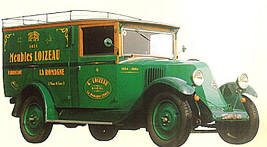 vehicule LOIZEAU 1924