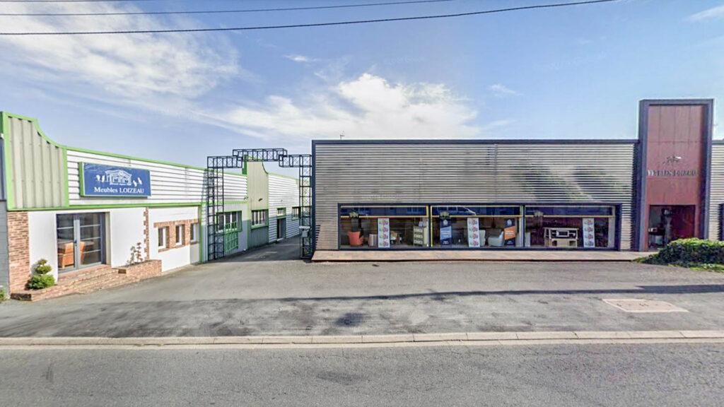 magasin et ateliers Meubles LOIZEAU