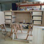 Enfilade Pi ateliers Meubles Loizeau