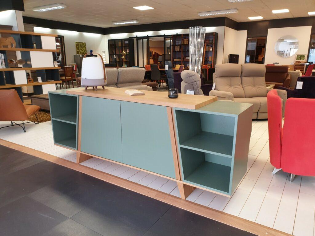 Enfilade Pi magasin Meubles Loizeau