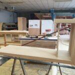 Fabrication Meuble TV contemporain MER D IROISE Meubles LOIZEAU
